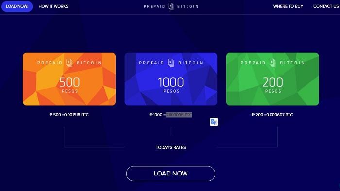 prepaid bitcoin card smart tnt sun mobile philippines