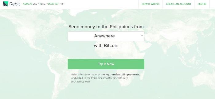 rebit remit money to philippines