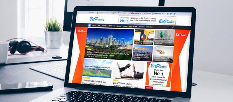 BitPinas Homepage Takeover