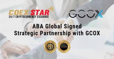 ABA Global sign with GCOX