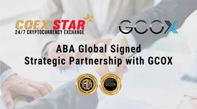 ABA Global sign with GCOX