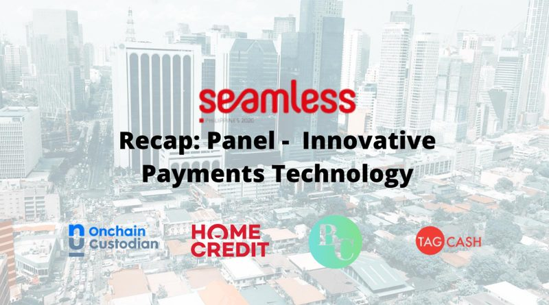 Seamless Philippines Innovate Payments 2020