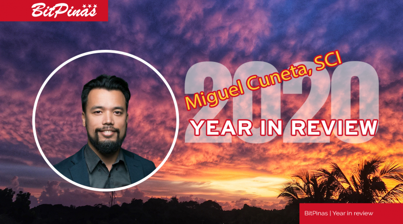 Miguel Cuneta | SCI Ventures | 2020 Year in Review