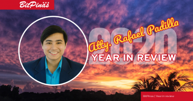Rafael Padilla year in review 2020