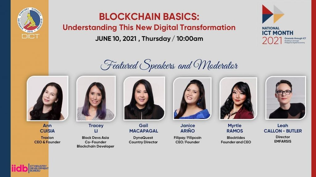 Learn Crypto & Blockchain Through DICT National ICT Month (June 1 to June 30, 2021)