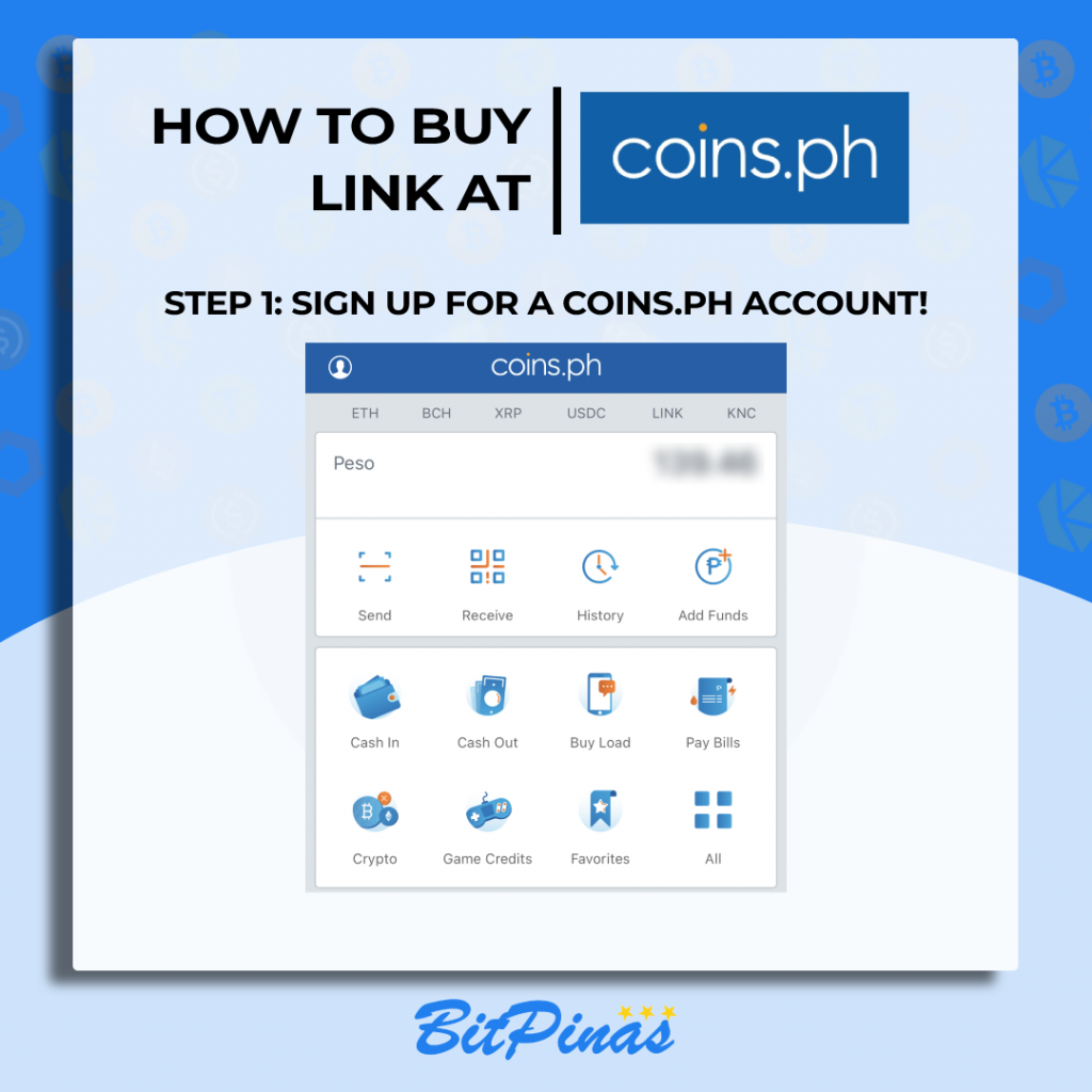 How to Buy LINK at Coins.ph!   Chainlink 101 Philippines Guide